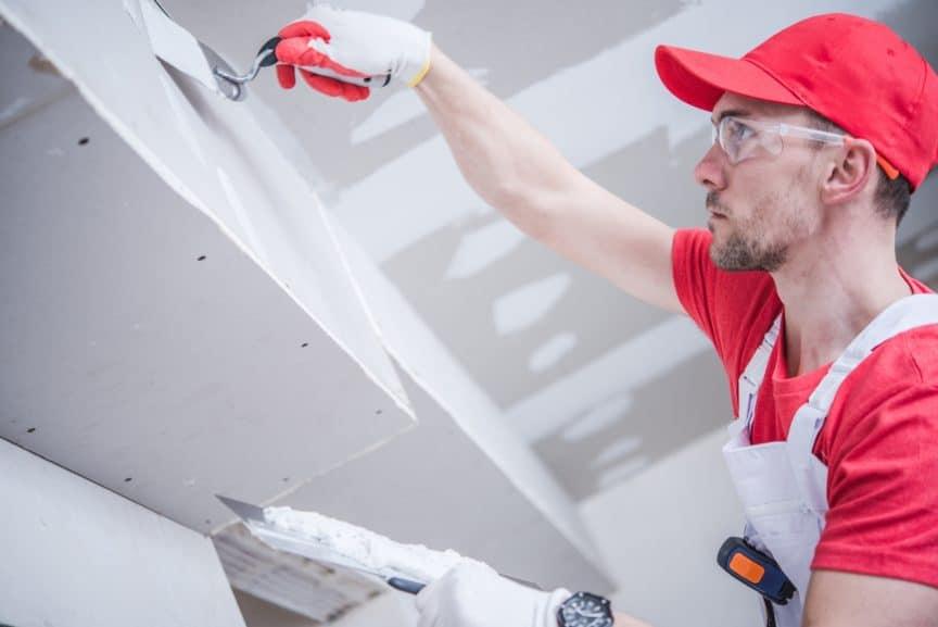 Drywall Ceiling Before Walls