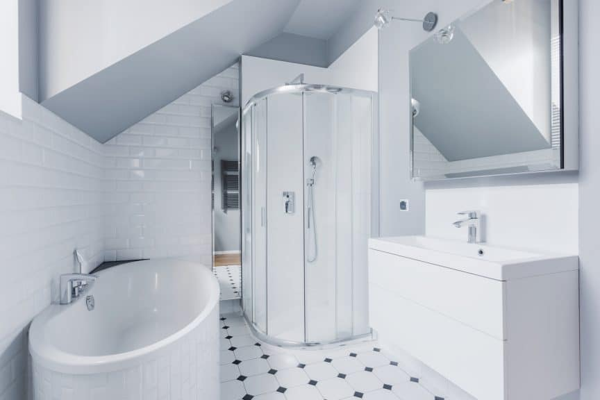 Putting a Toilet Where Shower Was