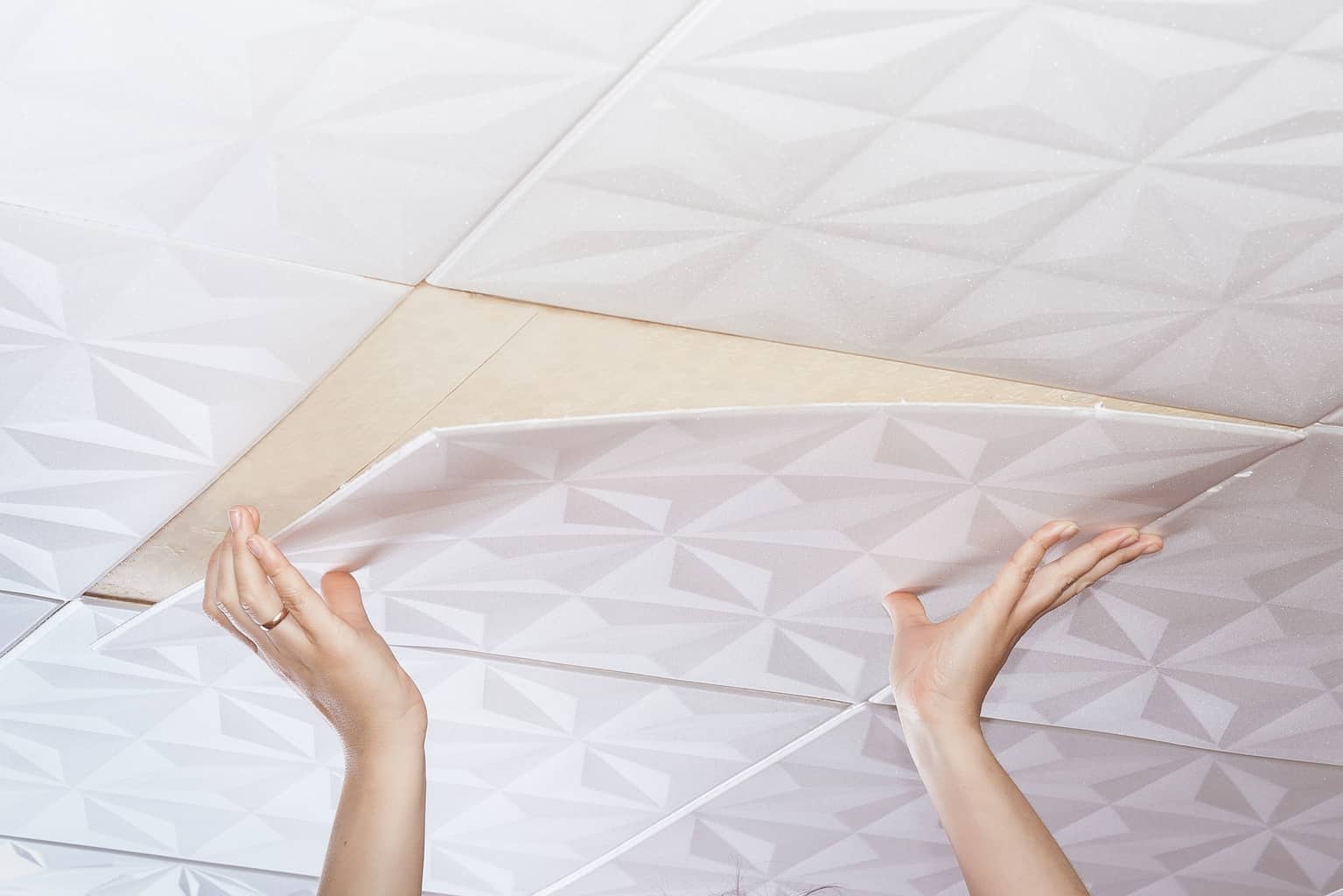 The 10 Pros And Cons Of Vinyl Ceiling Tiles Interiors Place
