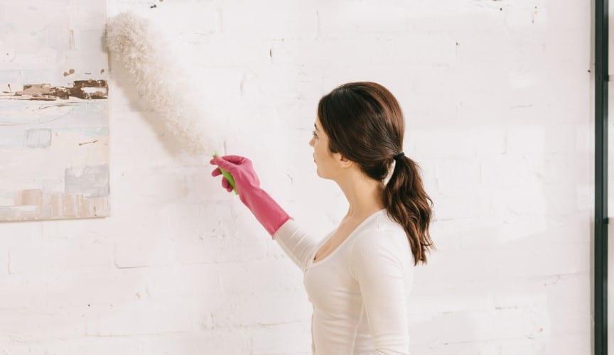 Why Walls Get Dusty