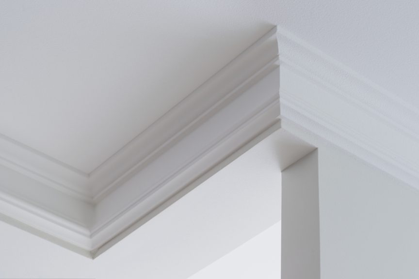 Crown Molding Installed Upside-Down