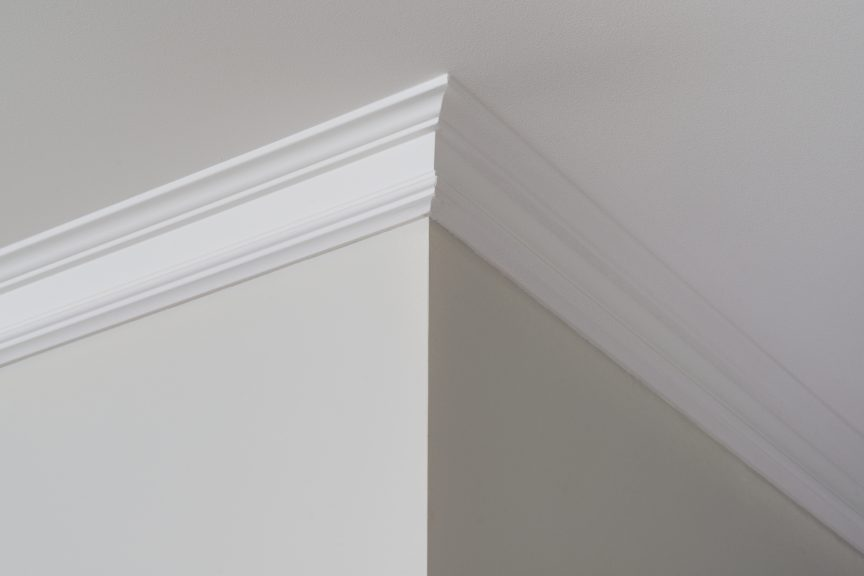 Mitered Crown Molding