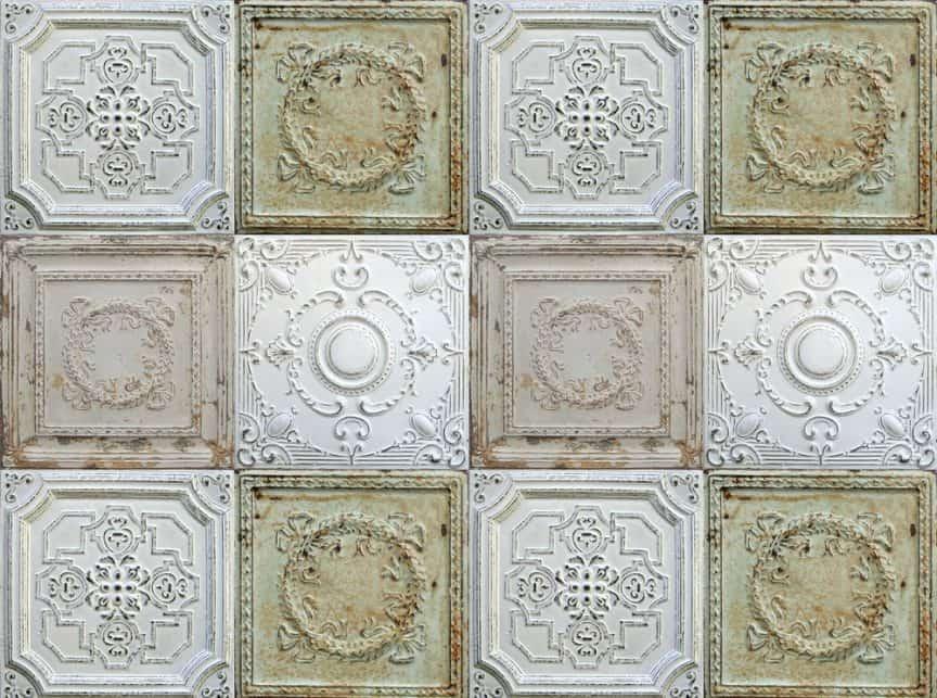 Tin vs Plastic Ceiling Tiles