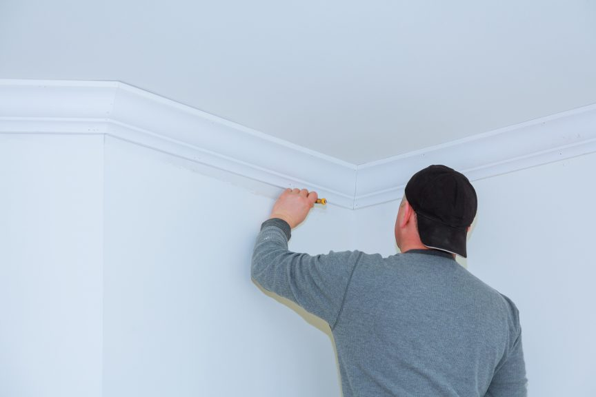 Fill Crown Molding Joints