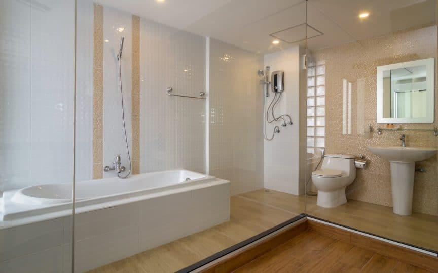 Glazed Bathroom Tile