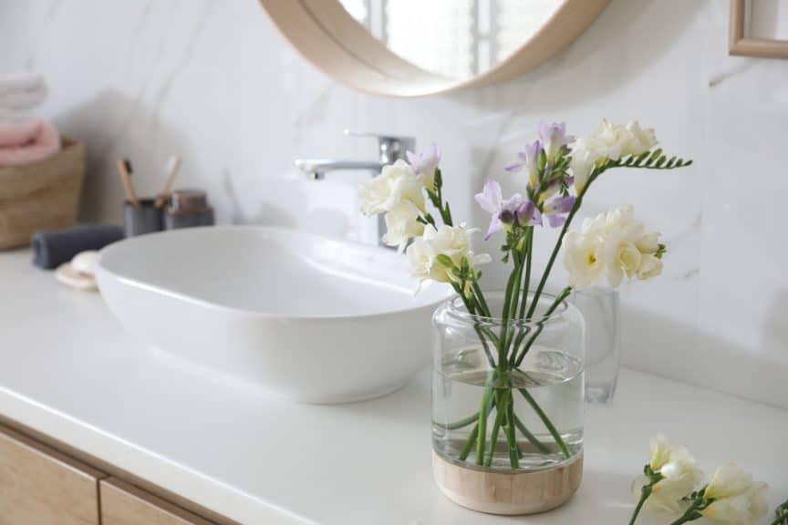Bathroom Counter Decoration