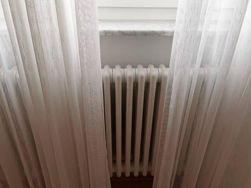 Curtains Near Radiator