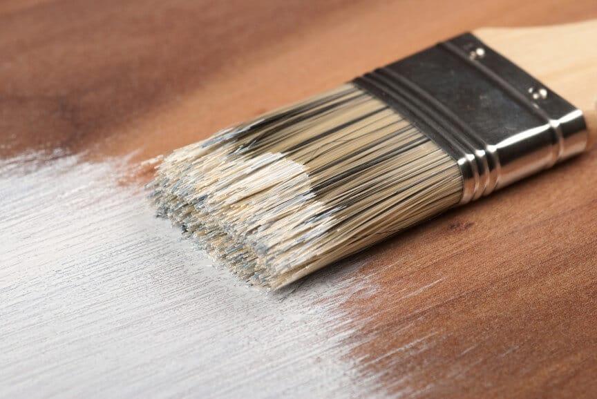Paint on Wood Floor