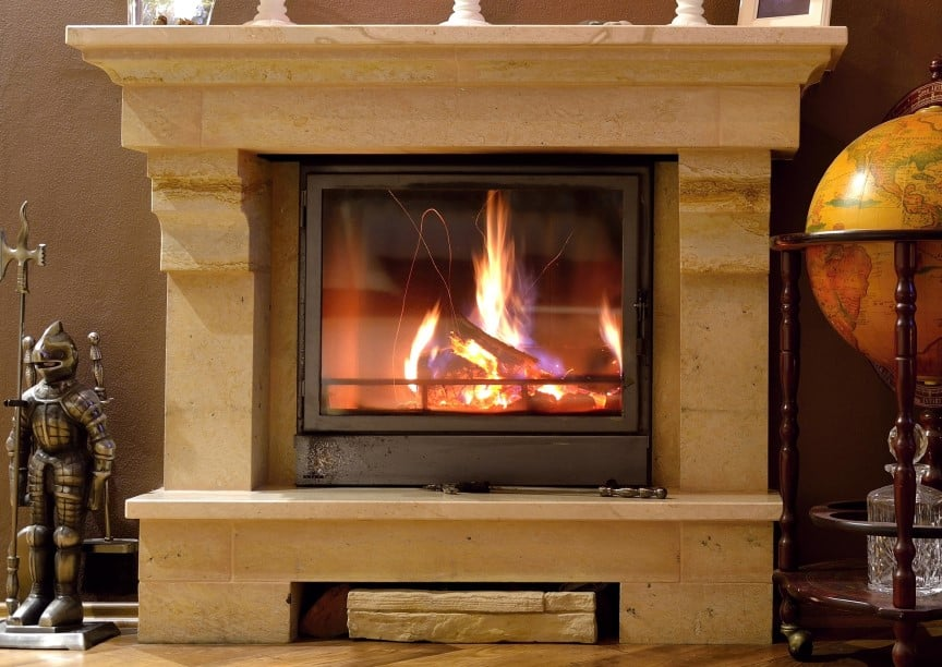 Wood Stovetop Fireplace