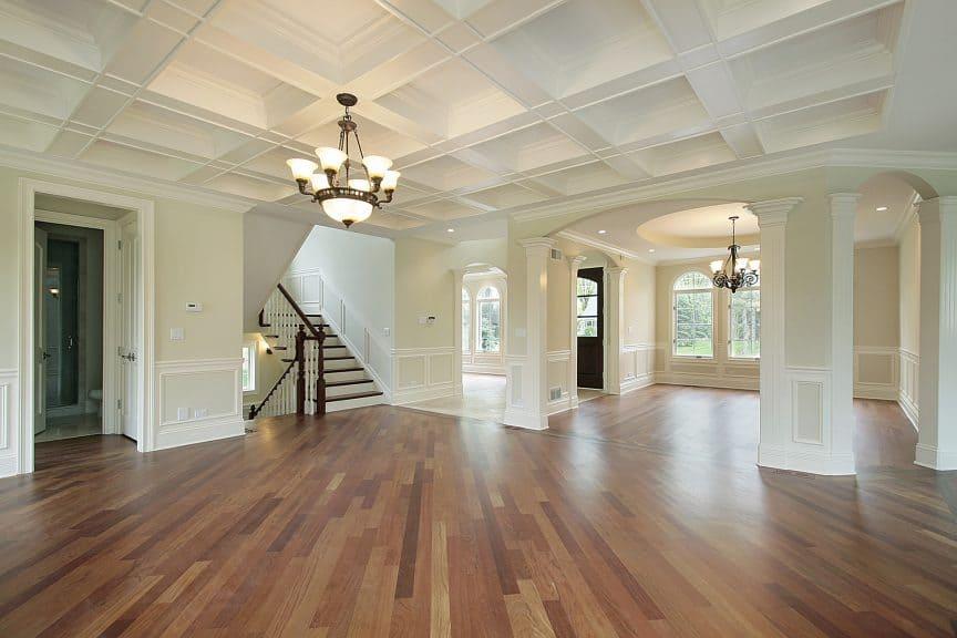 Cupped Hardwood Floor