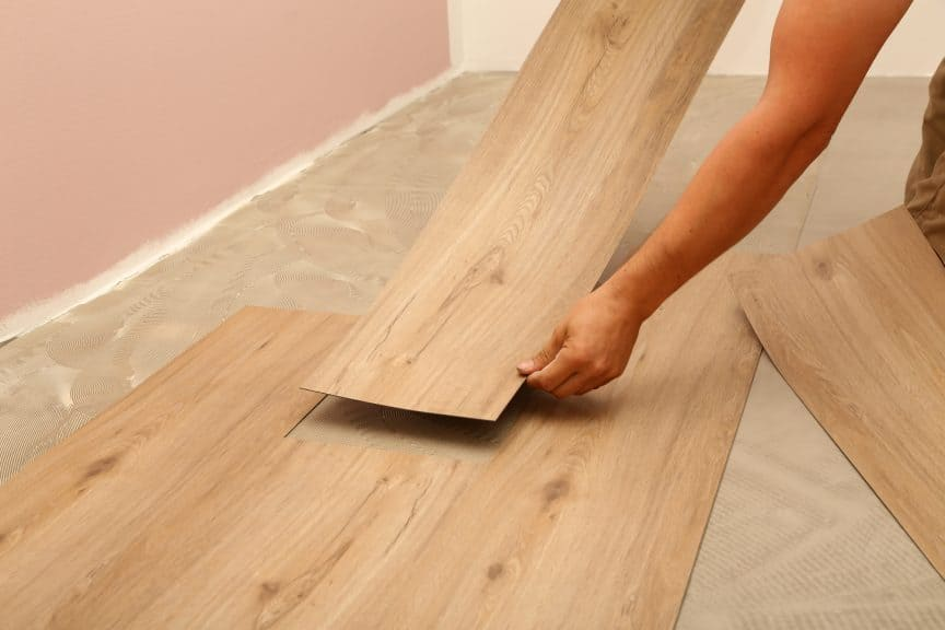 are peel and stick tiles waterproof